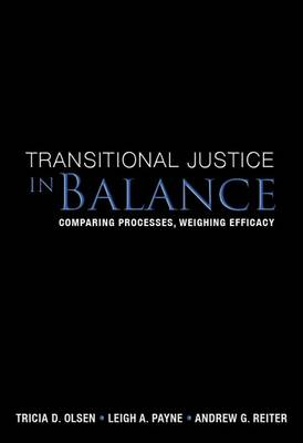Transitional Justice in Balance: Comparing Processes, Weighing Efficacy (Paperback)