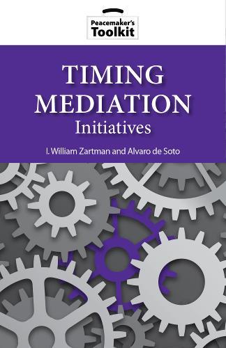Timing Mediation Initiatives (Paperback)