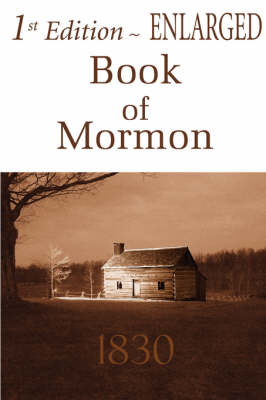 1st Edition Enlarged Book of Mormon (Hardback)