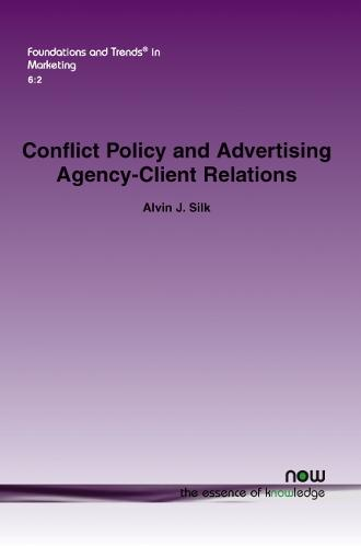Conflict Policy and Advertising Agency-Client Relations (Paperback)