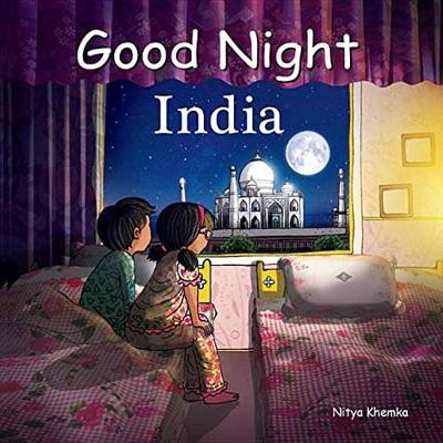 Good Night India (Board book)
