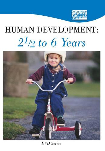 Human Development: 2 1/2 to 6 Years: Complete Series (DVD) - Concept Media: Educational Videos (DVD video)