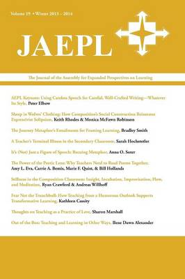 Jaepl: The Journal of the Assembly for Expanded Perspectives on Learning Volume 19 (Paperback)