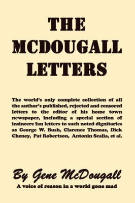 The McDougall Letters (Paperback)