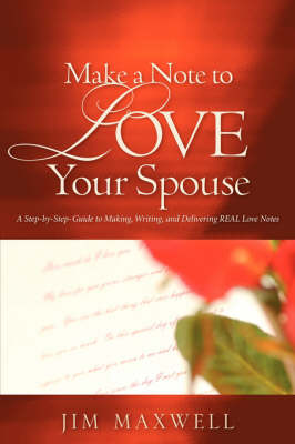 Make a Note to Love Your Spouse (Paperback)