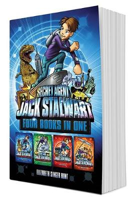 Secret Agent Jack Stalwart (Books 1-4): The Escape of the Deadly Dinosaur, The Search for the Sunken Treasure, The Mystery of the Mona Lisa, The Caper of the Crown Jewels (Hardback)