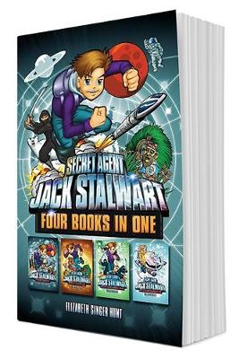 Secret Agent Jack Stalwart (Books 9-12): The Deadly Race to Space, The Quest for Aztec Gold, The Theft of the Samurai Sword, The Fight for the Frozen Land (Hardback)