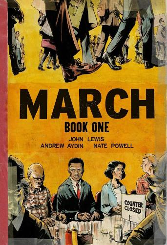March Book One (Oversized Edition) (Paperback)