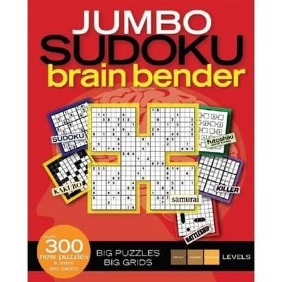 Jumbo Sudoku Brain Bender (Paperback)