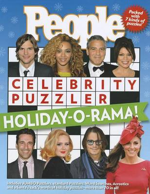 People Celebrity Puzzler: Holiday-O-Rama! (Paperback)