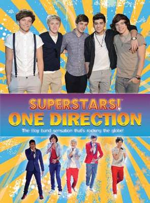 Superstars! One Direction: Inside Their World (Paperback)