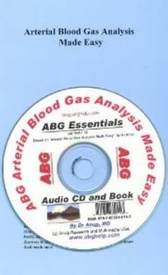 Arterial Blood Gas Analysis Made Easy (CD-Audio)