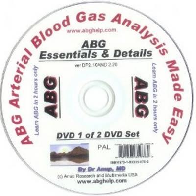 Abg -- Arterial Blood Gas Analysis Made Easy (DVD Audio)