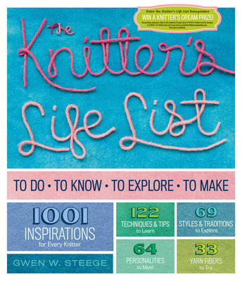 The Knitters Life List (Paperback)