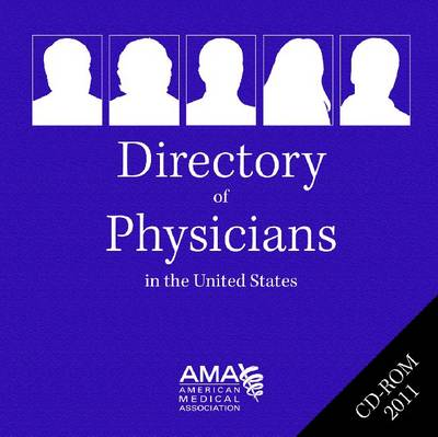 Directory of Physicians in the United States: 2011 CD-ROM (CD-ROM)