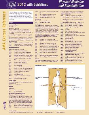 CPT Express Reference Coding Cards 2012: Physical Therapy