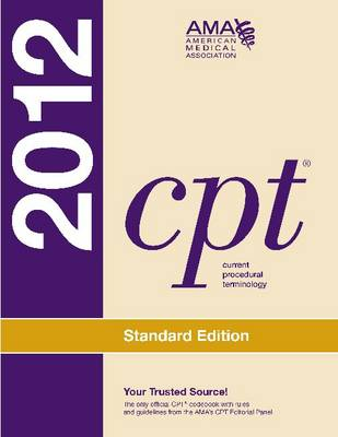 CPT 2012 Standard Edition (Paperback)