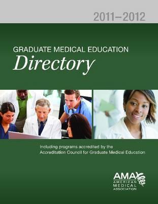 Graduate Medical Education Directory (Paperback)
