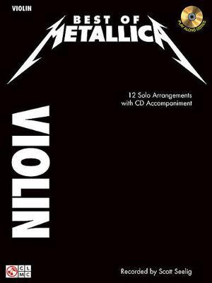 Metallica: Best Of - Violin (Book/Online Audio) (Paperback)