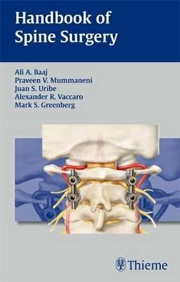 Handbook of Spine Surgery (Paperback)