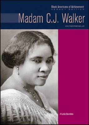 Madam C.J. Walker: Entrepreneur - Black Americans of Achievement (Hardback)