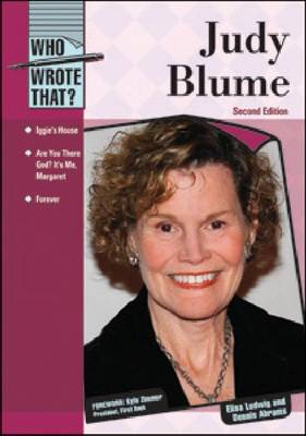 Judy Blume - Who Wrote That? (Hardback)