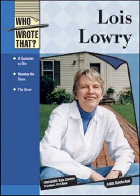 Lois Lowry - Who Wrote That? (Hardback)