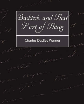 Baddeck and That Sort of Thing (Paperback)