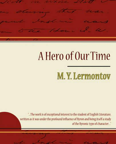 A Hero of Our Time - Lermontov (Paperback)