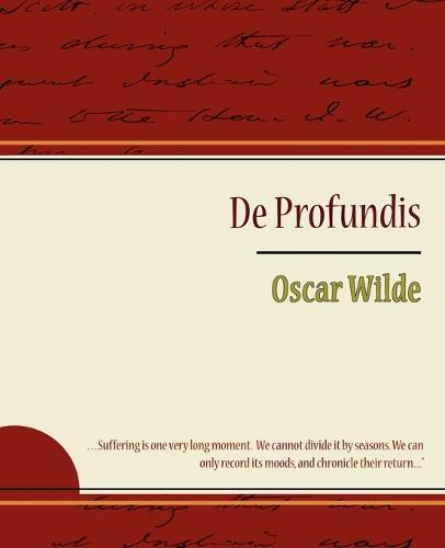 de Profundis - Oscar Wilde (Paperback)