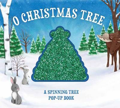 O Christmas Tree: A Spinning, Light-Up Pop-Up Book (Hardback)