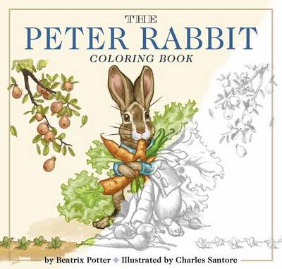 The Peter Rabbit Coloring Book: A Classic Editions Coloring Book (Paperback)