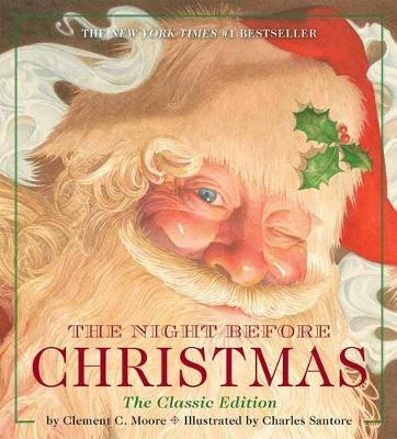 The Night Before Christmas: The Classic Edition (Board book)