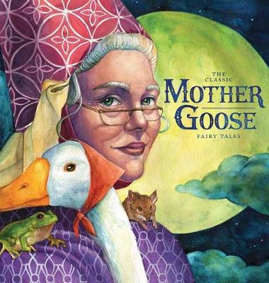 The Classic Collection of Mother Goose Nursery Rhymes Oversized Padded Board Book (Board book)
