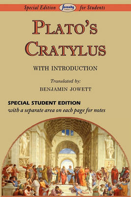 Cratylus (Special Edition for Students) (Paperback)