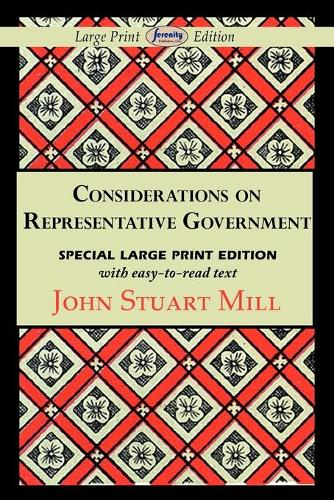 Considerations on Representative Government (Paperback)