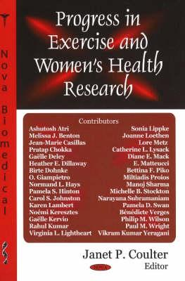 Progress in Exercise & Women's Health Research (Hardback)