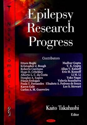 Epilepsy Research Progress (Hardback)