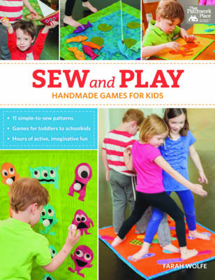 Sew and Play: Handmade Games for Kids (Paperback)