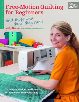 Free-Motion Quilting for Beginners (Paperback)