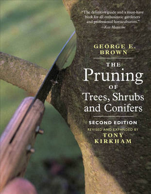 Pruning of Trees, Shrubs and Conifers (Paperback)