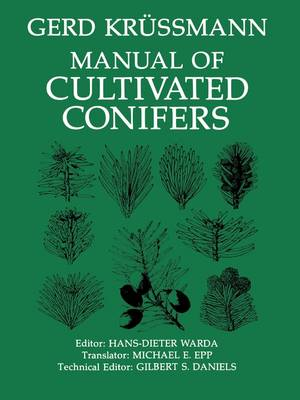 Manual of Cultivated Conifers (Paperback)
