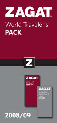 World Traveler's Pack 2008/09 - Zagat Guides (Paperback)