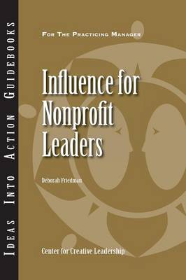 Influence for Nonprofit Leaders (Paperback)