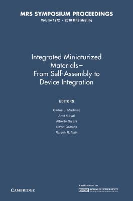 MRS Proceedings Integrated Miniaturized Materials: Volume 1272 (Hardback)