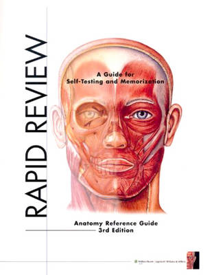 Rapid Review: Anatomy Reference Guide (Spiral bound)