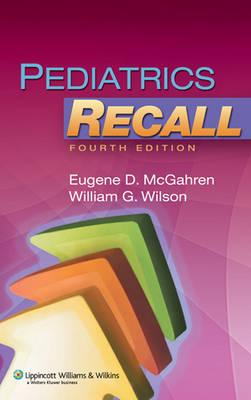 Pediatrics Recall - Recall Series (Paperback)