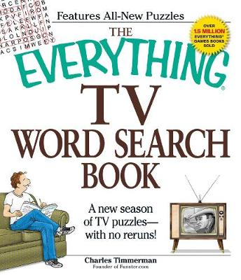 The Everything TV Word Search Book: A new season of TV puzzles - with no reruns! - Everything (R) (Paperback)