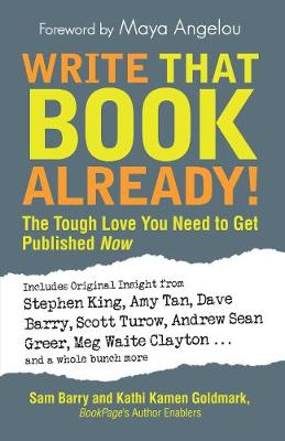 Write That Book Already!: The Tough Love You Need To Get Published Now (Paperback)