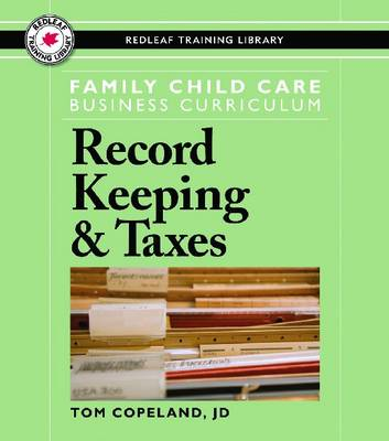 Family Child Care Business Curriculum: Record Keeping & Taxes